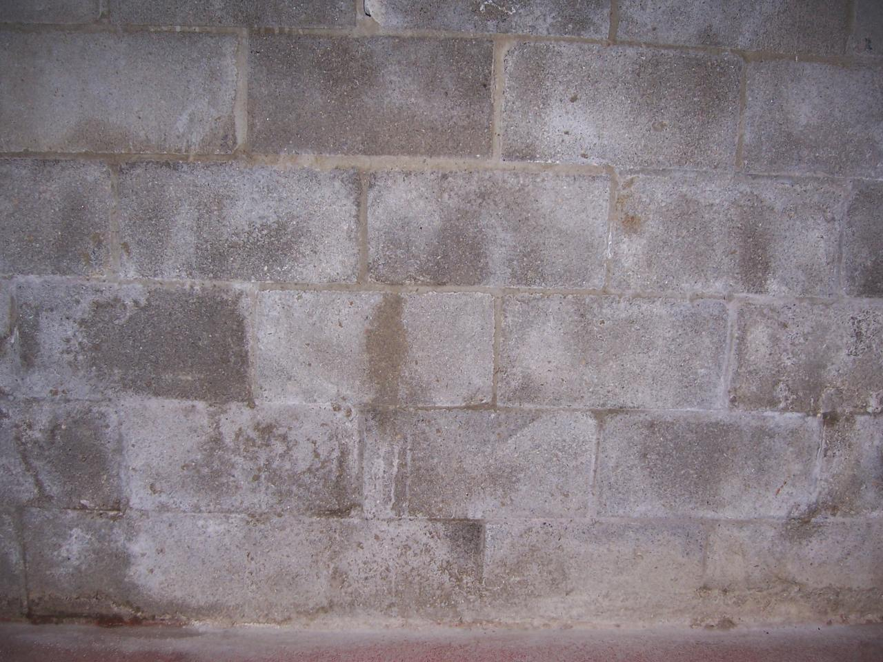 Basement Concrete Block Mortar Seepage Advice Building
